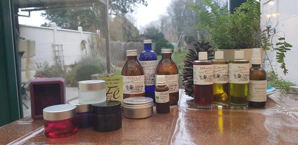 Ingrédients de première qualité pour fabriquer vos cosmétiques maison